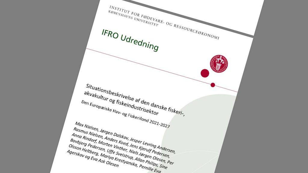 IFRO udregning om status på dansk fiskeri nu og i fremtiden